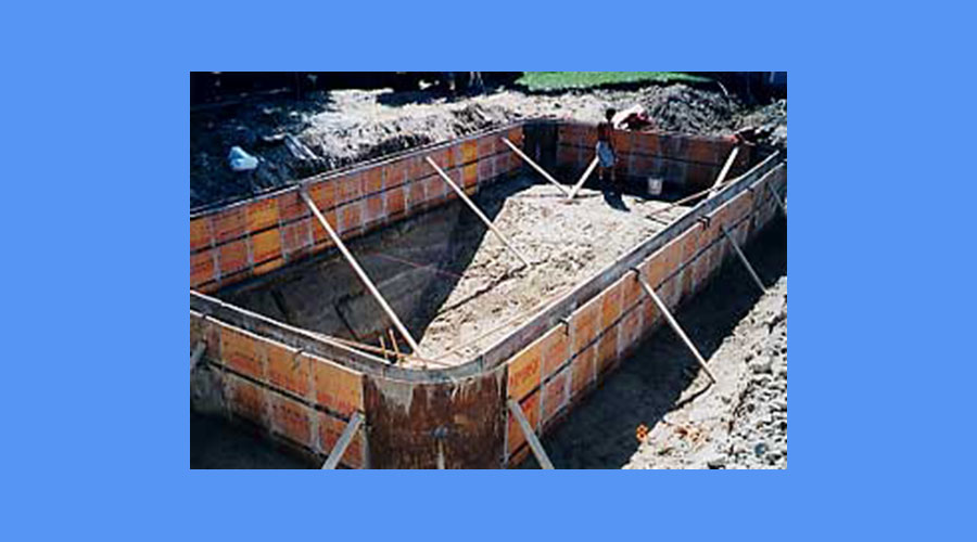 In Ground Concrete Wall Pool Installation Process